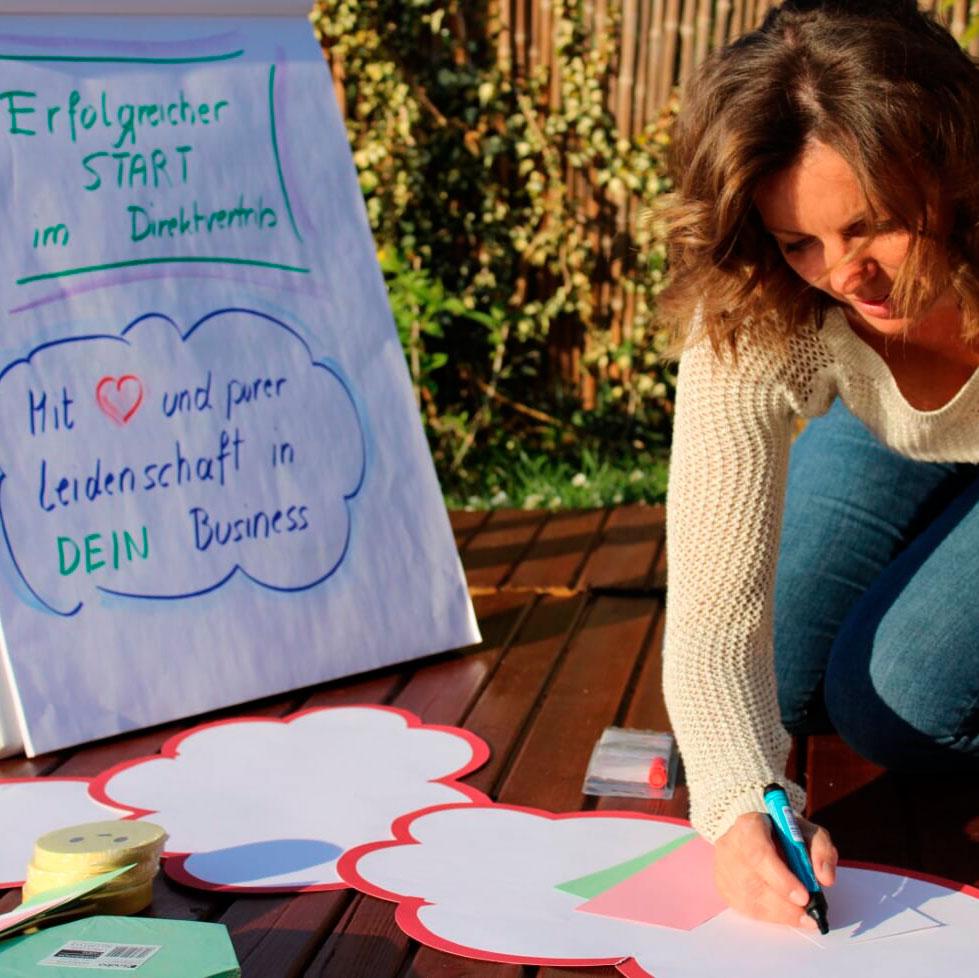 Starttraining Direktberater, Sabine Zenleser