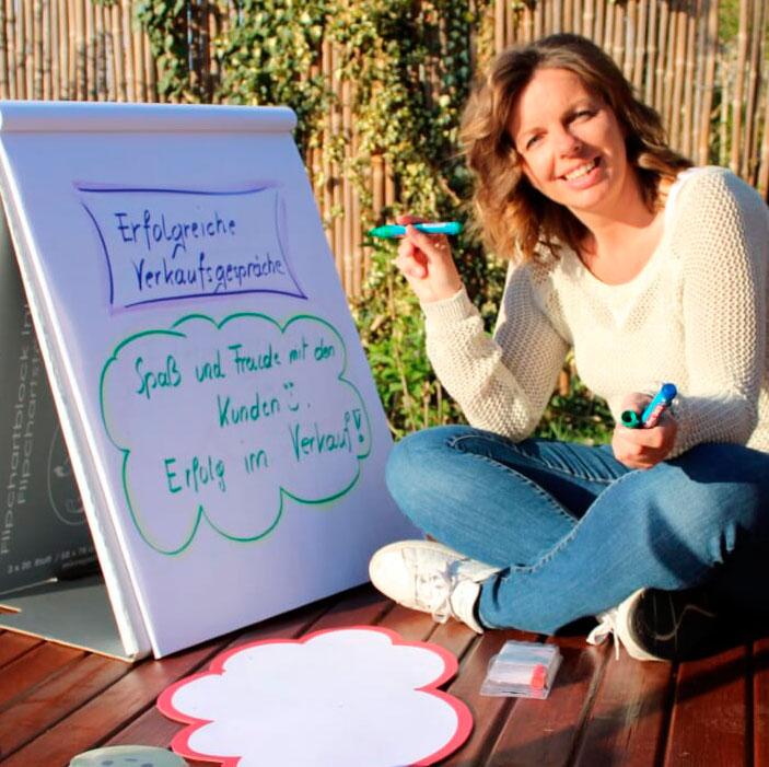 Präsentation im Direktvertrieb, Training mit Sabine Zenleser