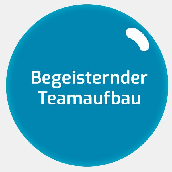 Begeisternder Teamaufbau - Training Sabine Zenleser